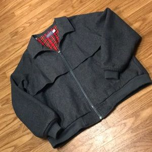 Vintage Men's Pendleton Gray Jacket